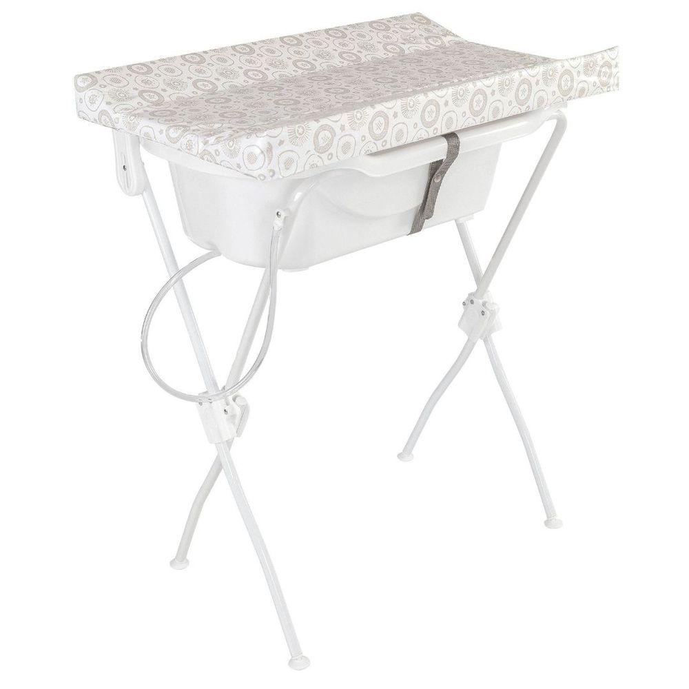 Banheira Com Trocador New Floripa Branca - Tutti Baby