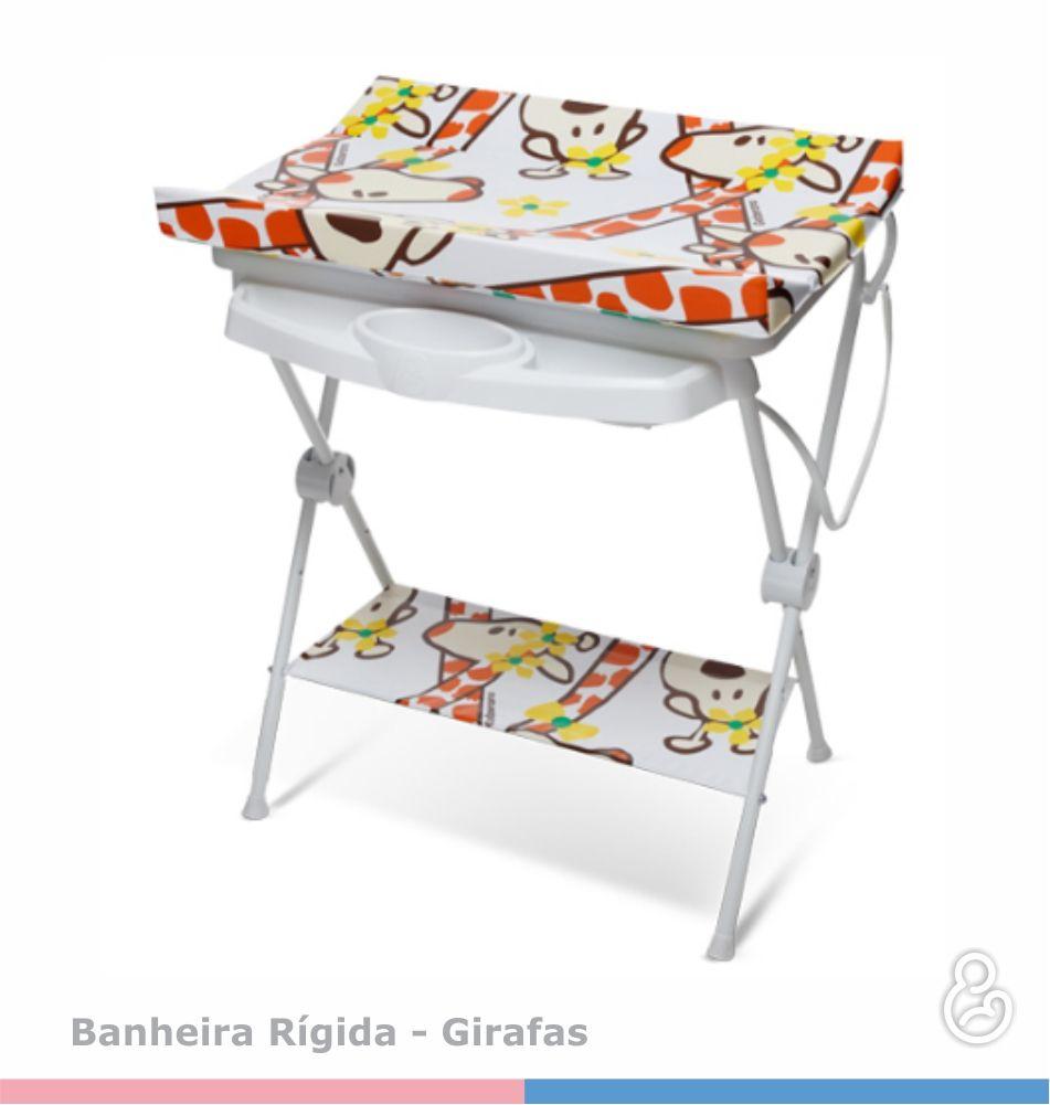 Banheira Luxo Rígida Girafa com Trocador - Galzerano