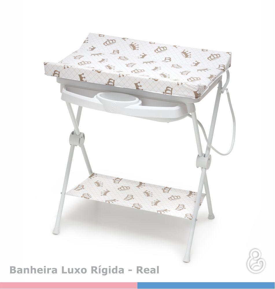 Banheira Luxo Rígida Real com Trocador - Galzerano