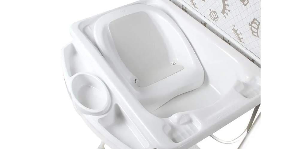 Banheira para Bebê Luxo Galzerano com Trocador Aviador
