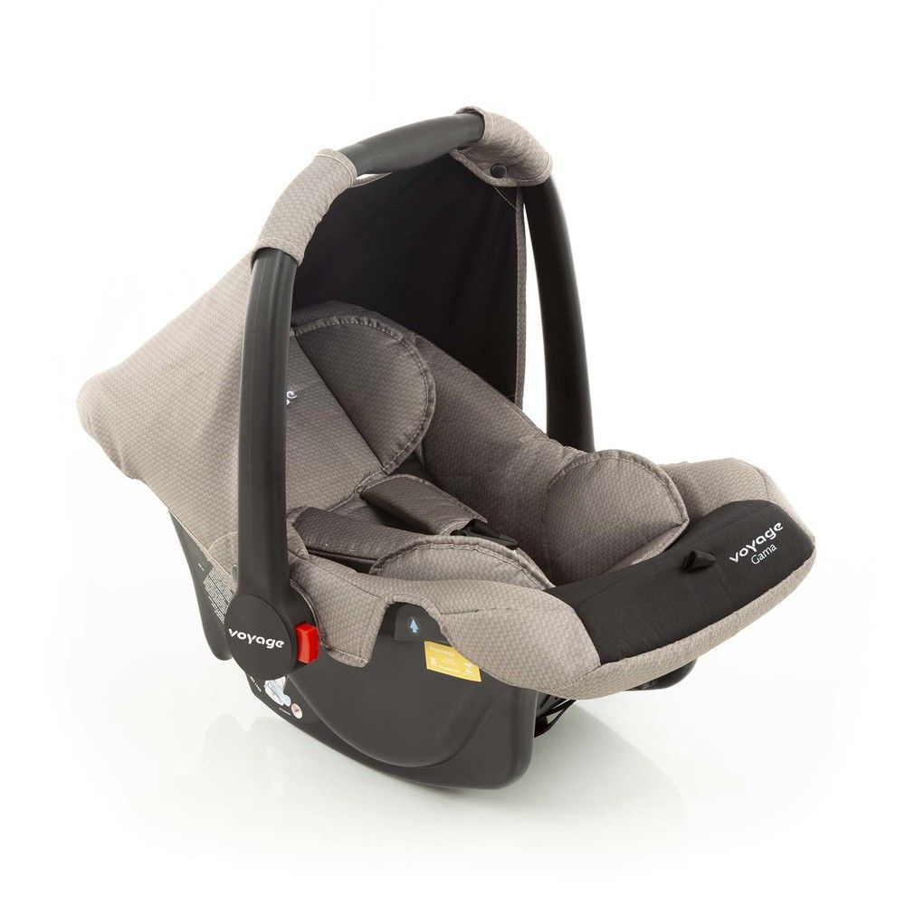 Bebê Conforto Gama Voyage - Bege Grid