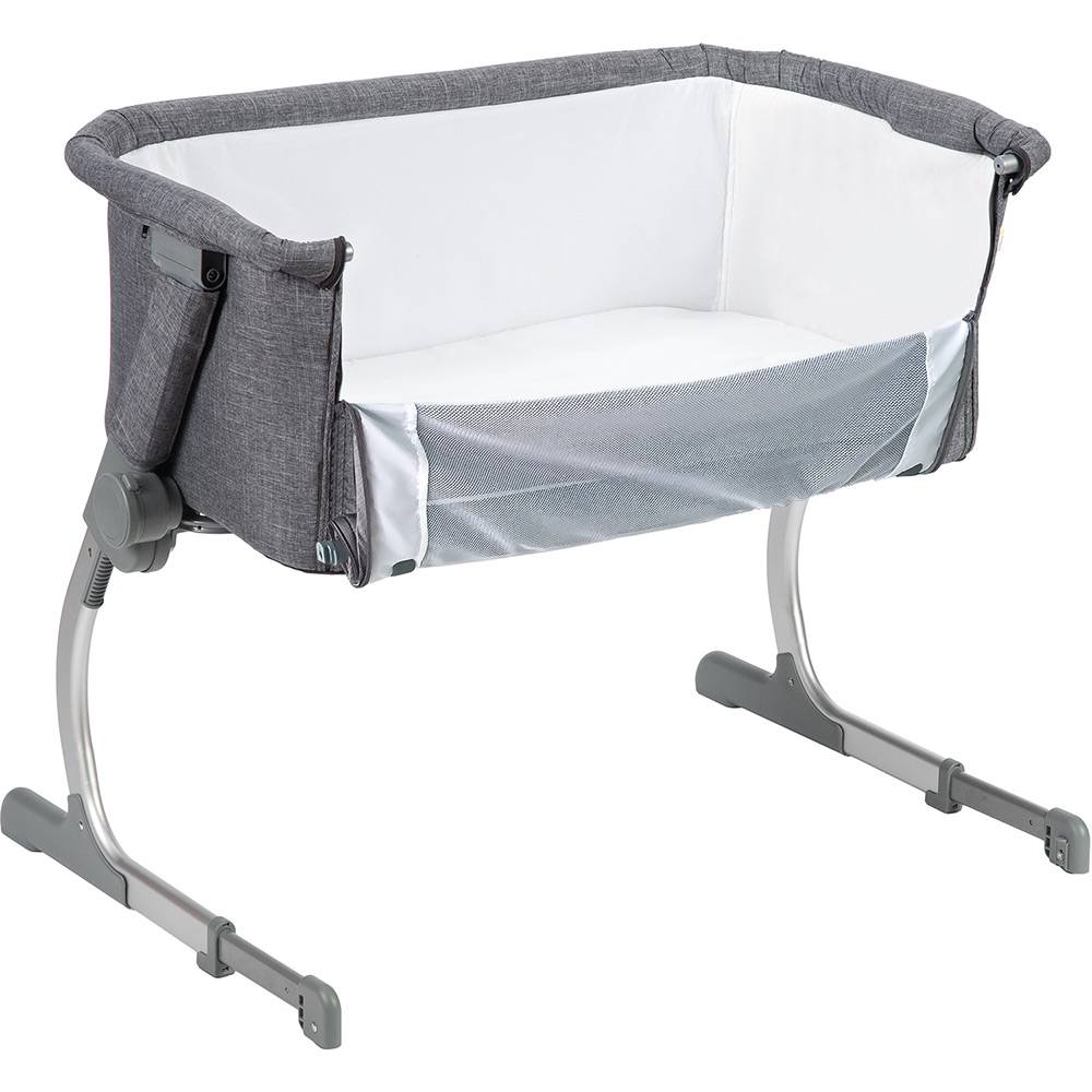 Berço Portátil Co-leito Side By Side Gray - Safety 1st