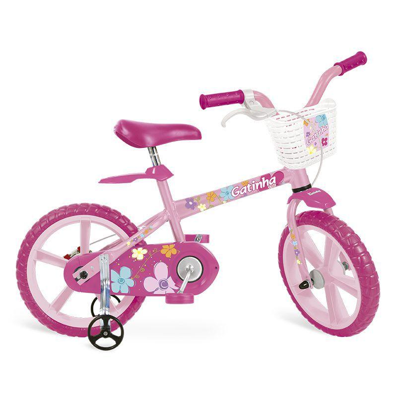 Bicicleta Infantil Gatinha Aro 14 - Bandeirante