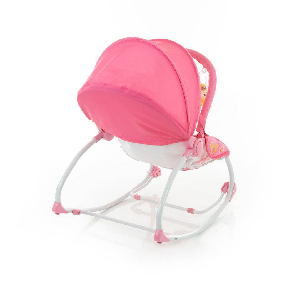 Cadeira de Descanso Bouncer Sunshine Baby Pink Garden - Safety 1st
