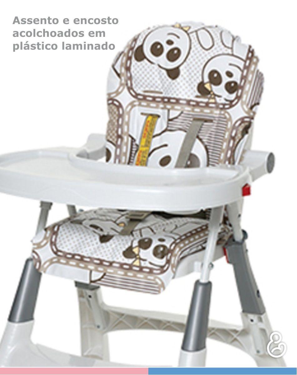 Cadeira de Refeição Alta Premium Girafas - Galzerano