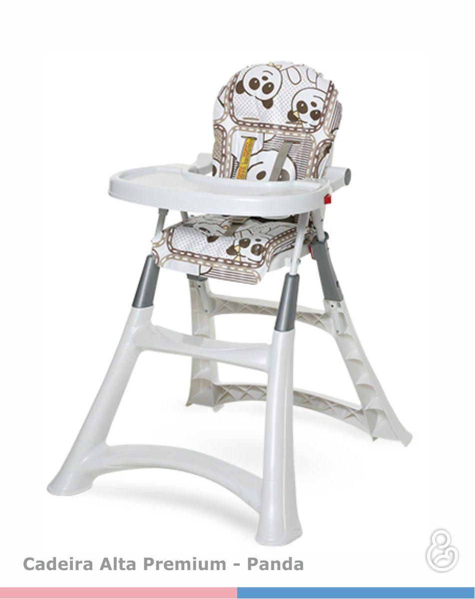 Cadeira de Refeição Alta - Premium Panda - Galzerano