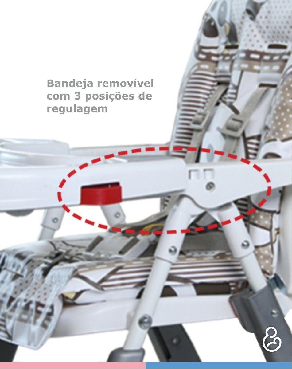 Cadeira de Refeição Alta Premium Real - Galzerano