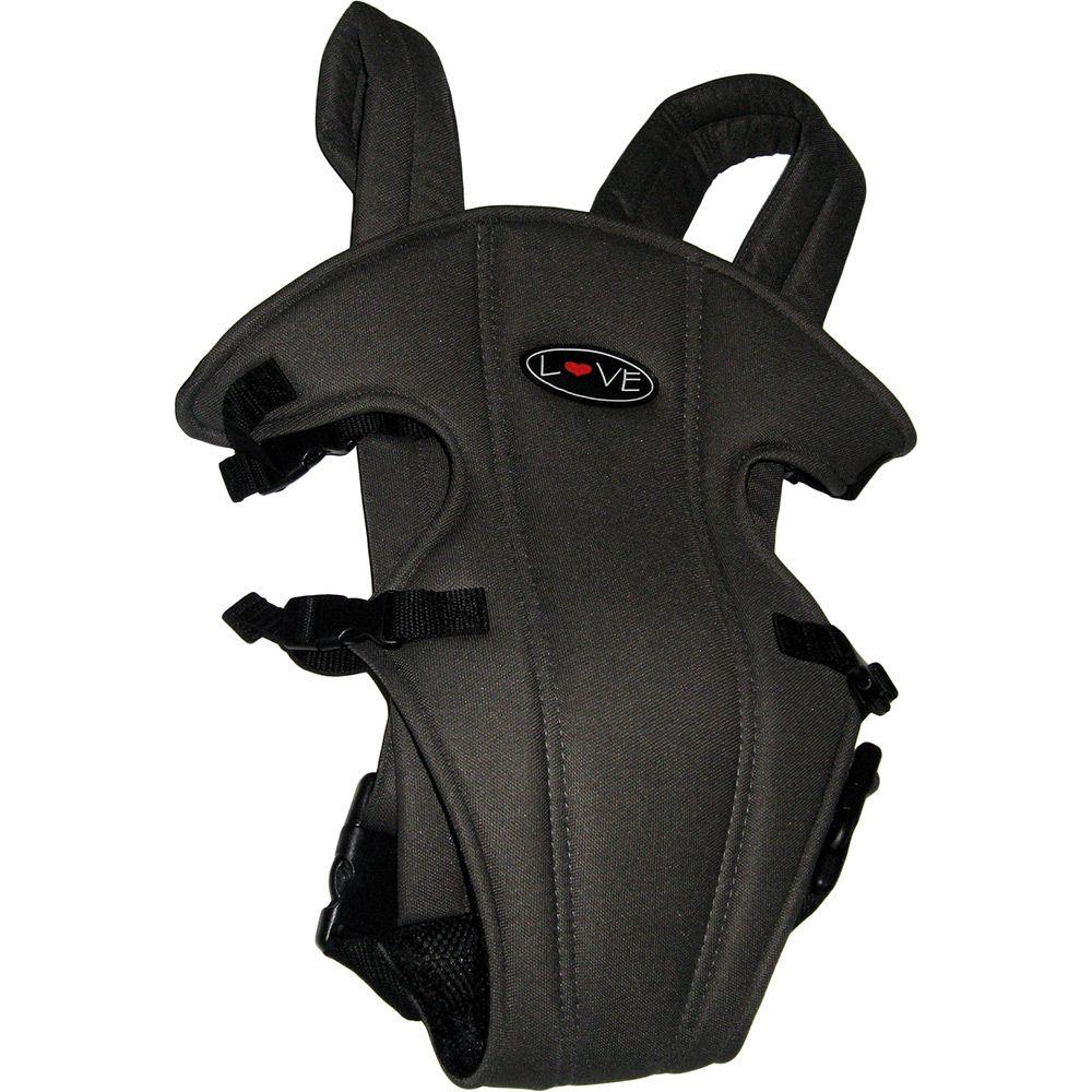 Canguru Mochila para Bebê 1 Posição Cinza Escuro - Love