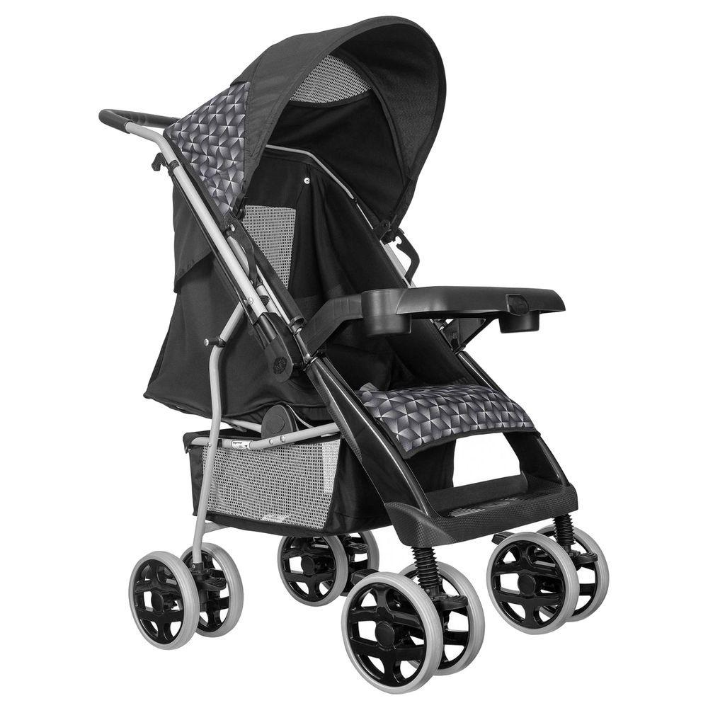 Carrinho De Bebê Berço Thor Plus Preto - Tutti Baby