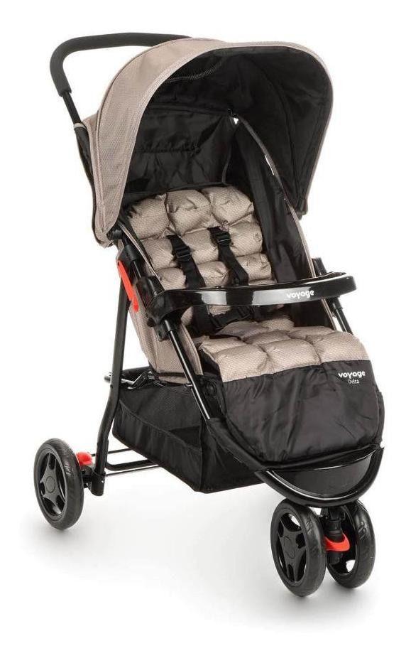 Carrinho de Bebê Delta Bege - Voyage