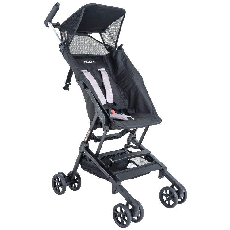 Carrinho de Bebê Lenox Kiddo Nano Preto 5224APR