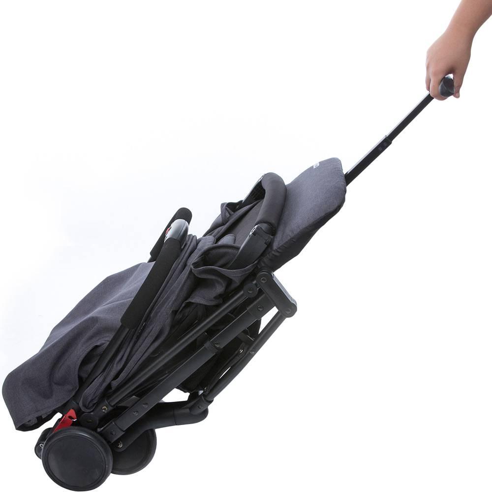 Carrinho de Bebê Pocket Clever Preto Mescla - Cosco