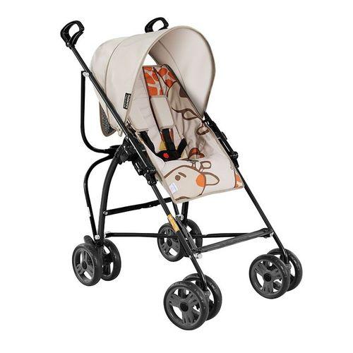 Carrinho de Bebê Reversível e Reclinável Campora Girafas-Galzerano - Bege / Preto