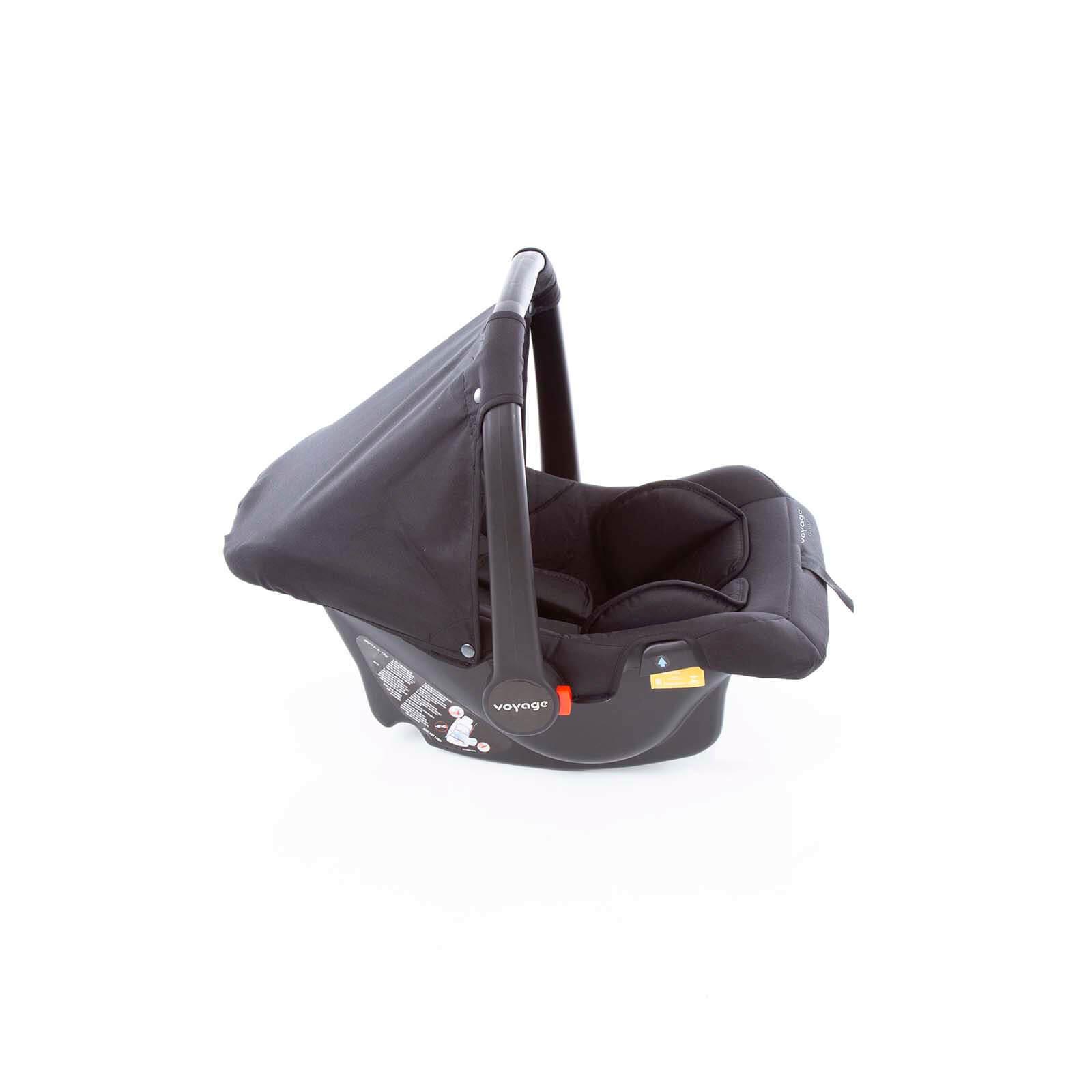 Carrinho de Bebê Travel System Delta Preto - Voyage