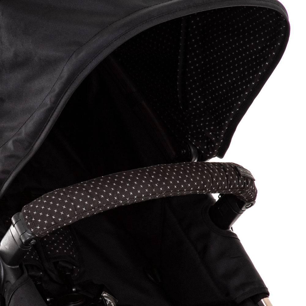 Carrinho de Bebê Travel System Mobi Trio Ed Especial Black & Rosé - Safety 1st