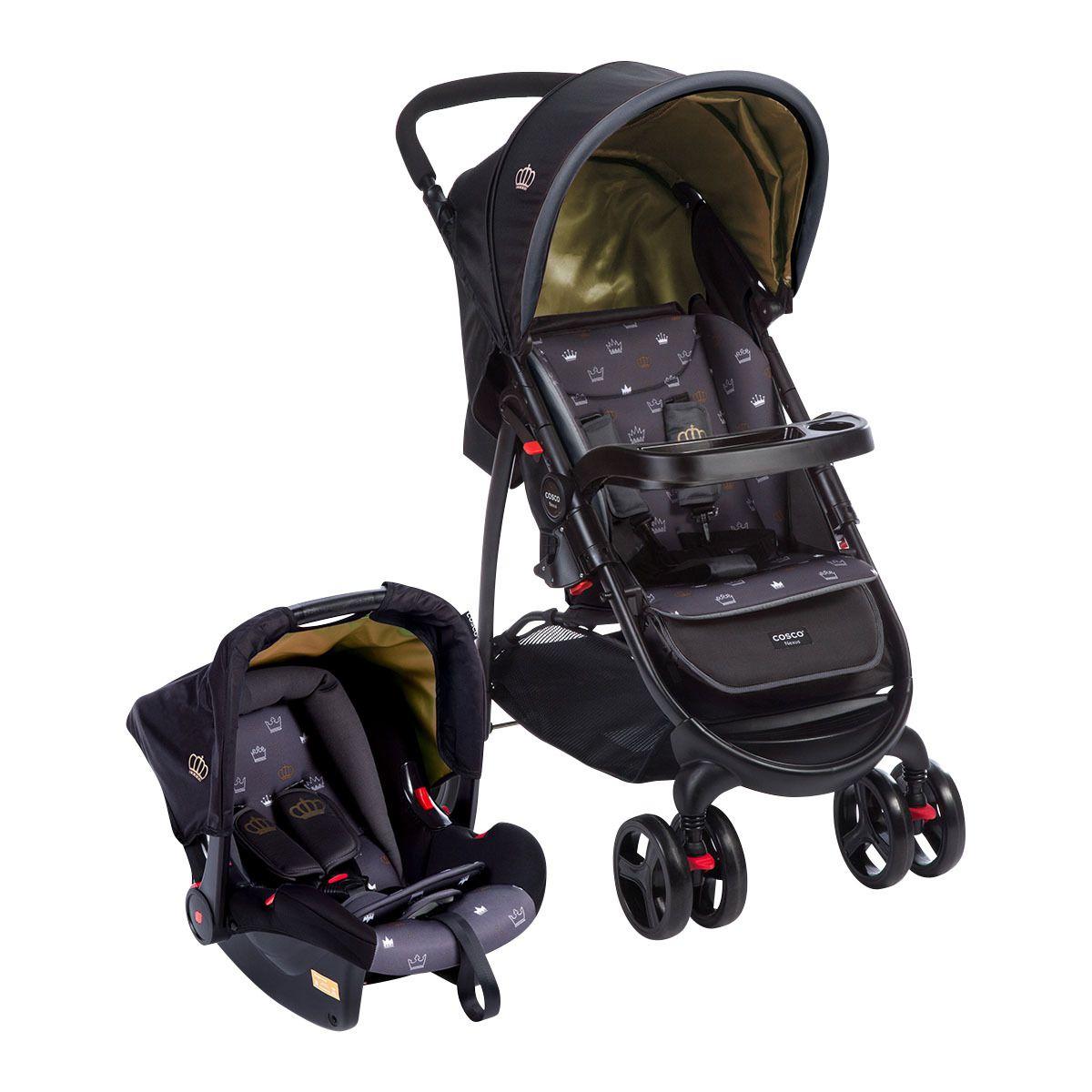 1ef7d6f8b Carrinho de Bebê Travel System Nexus Preto + BB conforto - Cosco -  Tbabykids ...