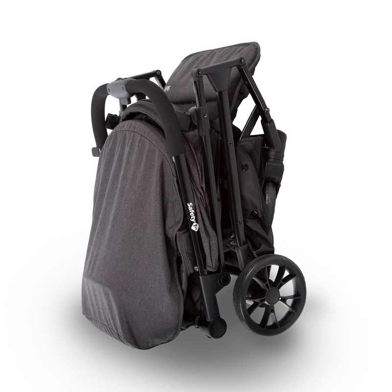 Carrinho De Bebê Travel System Skill Trio black Denim - Safety 1st