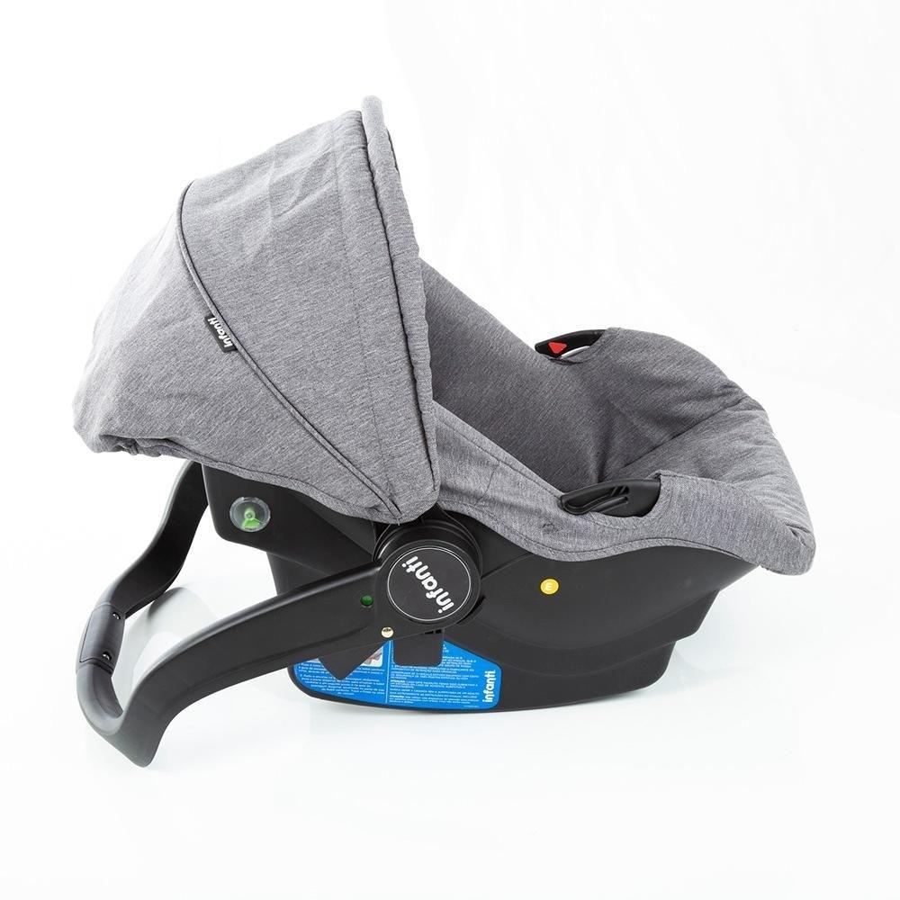 Carrinho de Bebê Travel System  Sky Trio Grey Classic 0 meses a 15 kg