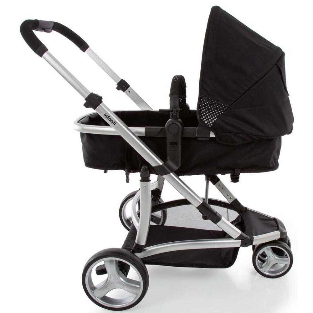 Carrinho  Travel System Inafanti  Sky Trio - Grey Classic 0 a 15 kg