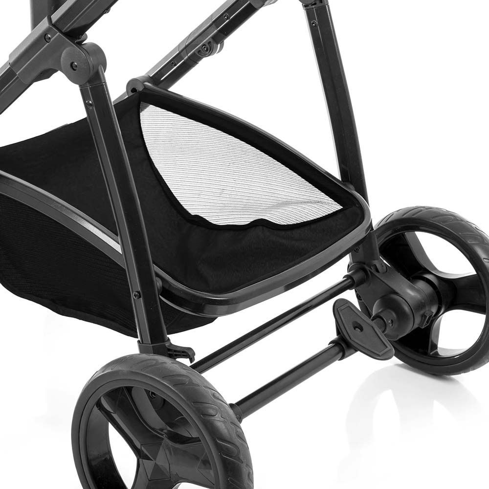 Carrinho de Bebê Travel System Voyage Vip Preto + Gama Preto