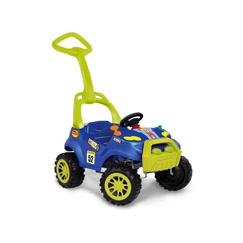 Carrinho Smart Passeio e Pedal Azul - Bandeirante