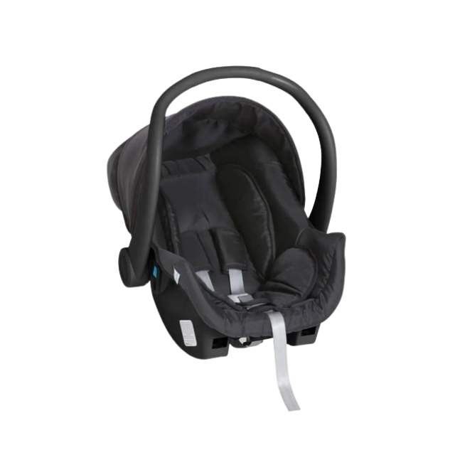 Carrinho Travel System Galzerano Olympus Moisés - Black  + Bebê conforto Cocoon
