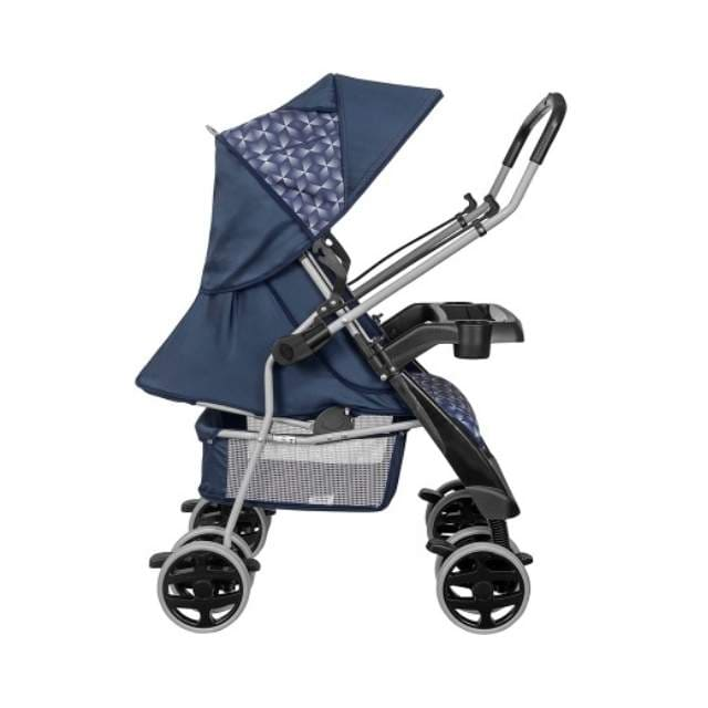 Carrinho Travel System Tutti Baby  Thor New - Azul com Bebe Conforto