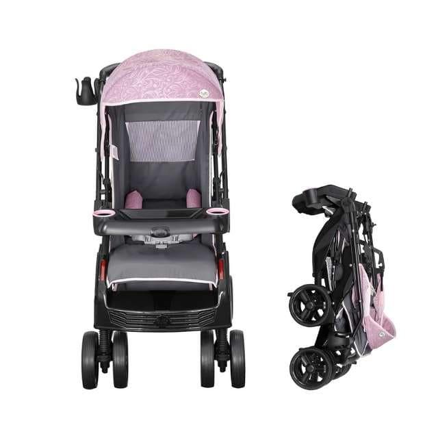 Carrinho Travel System Tutti Baby Upper - Rosa com Bebê Conforto