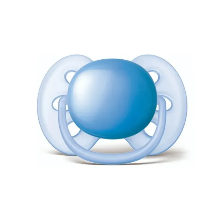 Chupeta Azul Ultra Soft Lisa 6-18 meses - Philips Avent