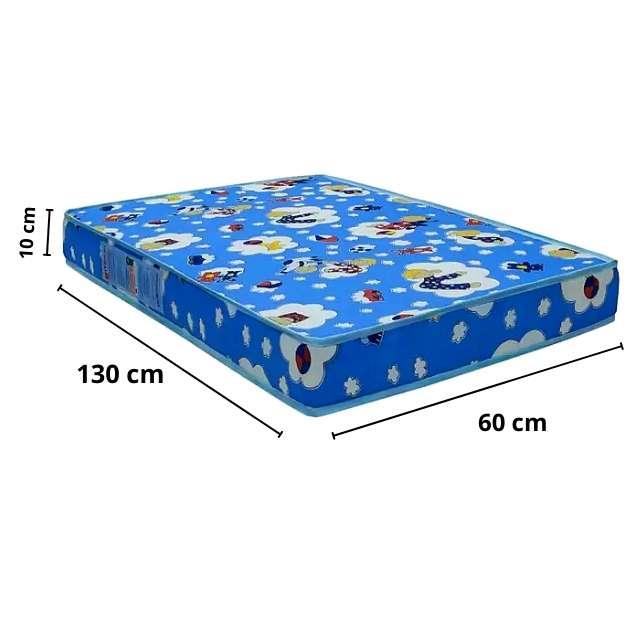 Colchão para Berço Ortobom Baby Physical  D18 - (60x130x10cm) - Berço simples