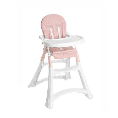 Cadeira de Refeição Alta - Premium Rosa - Galzerano
