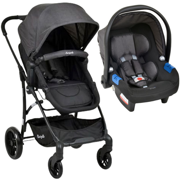 Carrinho Bebe Travel System Burigotto Convert Touring Evolution X DARK GRAY