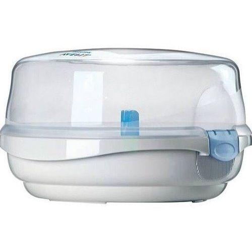 Kit 03 Mamadeiras Petala Avent Esterilizador Dosador Leite Azul