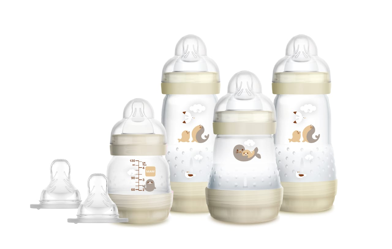 Kit 4 Mamadeira Mam Easy Start - Gift Set (0+ Meses) Neutra 4675