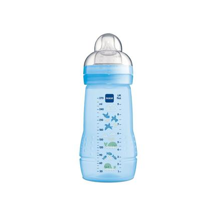 Mamadeira mam easy active - 270ml (2+ meses) - azul - 4837