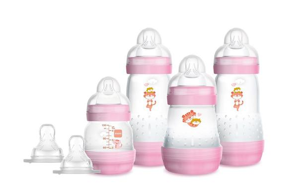 Mamadeira Mam Easy Start - Gift Set Rosa - 4692
