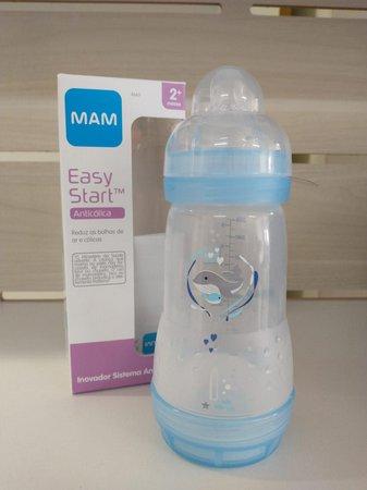 Mamadeira Mam First Bottle Boys 260ml - 4663