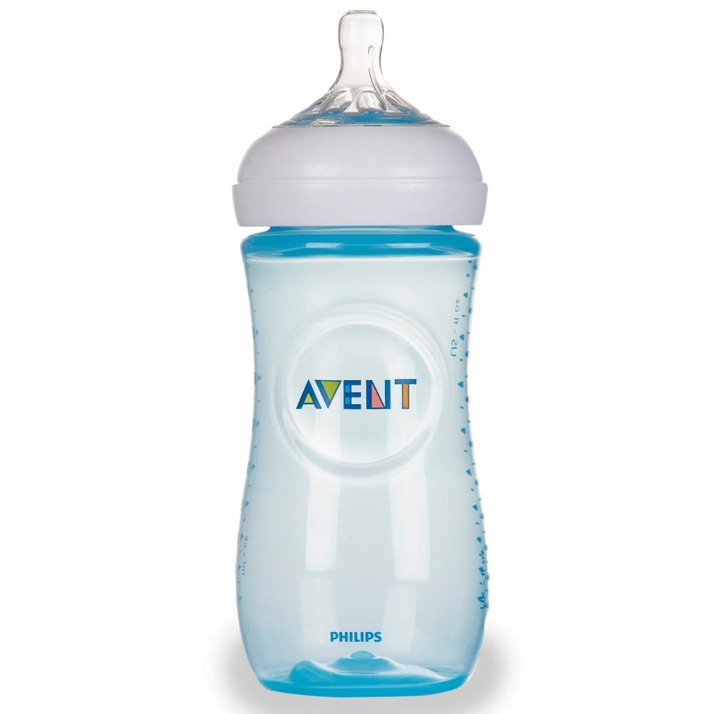 Mamadeira Pétala 330 ml Azul - Avent
