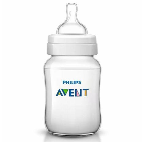 Mamadeira -  Transparente - Anti Cólica - 330 ml - Philips Avent