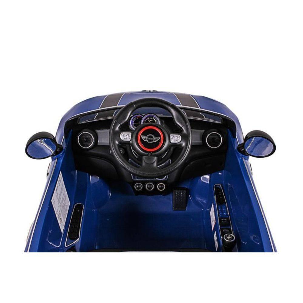 Mini Cooper Elétrico Azul R/C 12V - Belfix