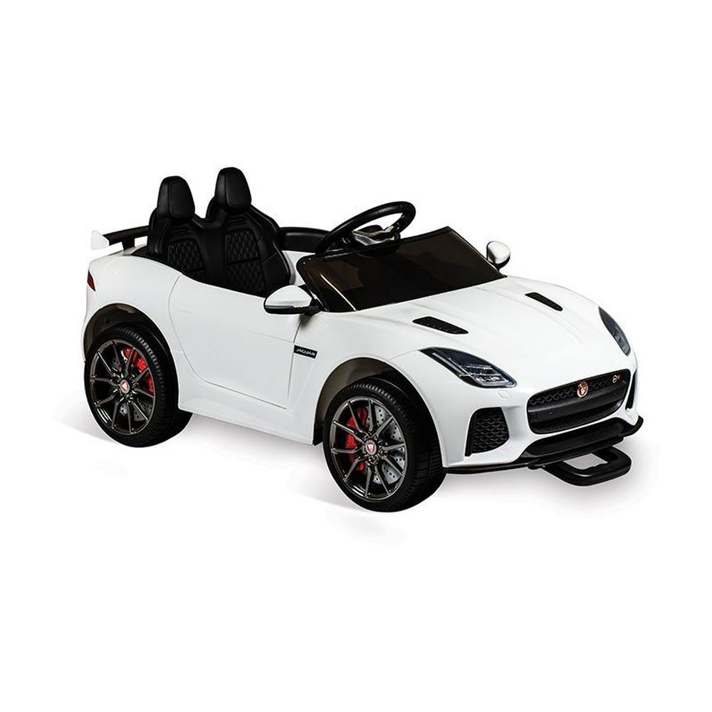 Mini Veículo Jaguar Branco R/c Elétrica 12v - Bandeirante