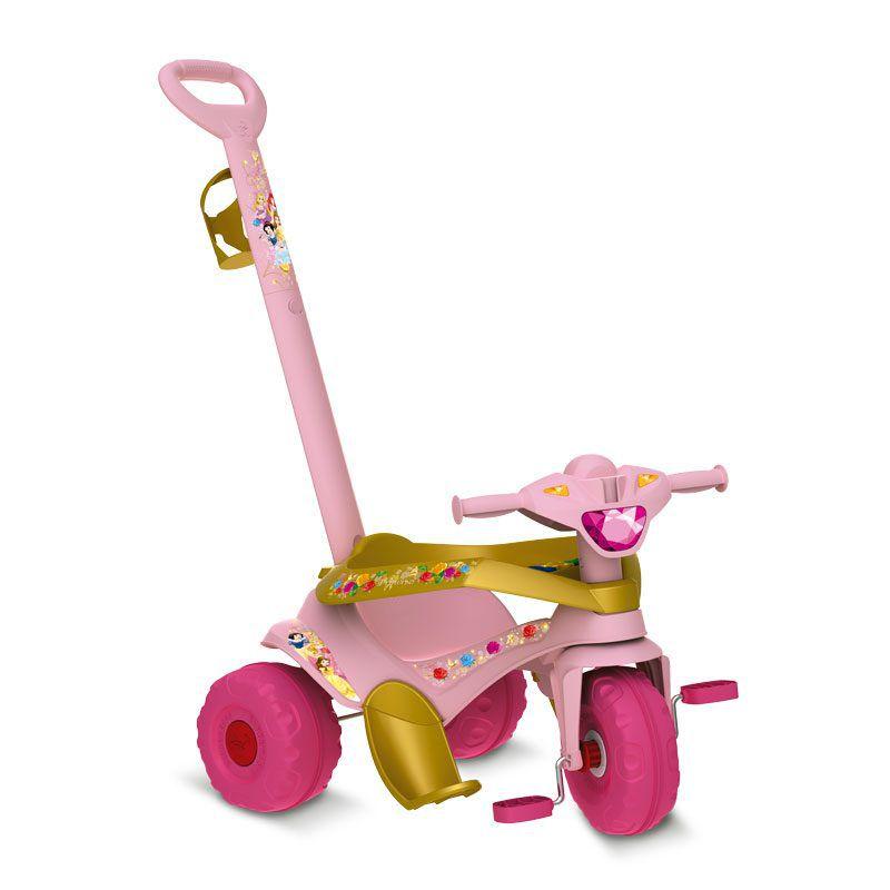 Triciclo Motoka Passeio & Pedal Princesas Disney - Bandeirante