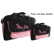 Kit Bolsas de bebê Maternidade Personalizadas Menina 2pçs (Baby Jhow)