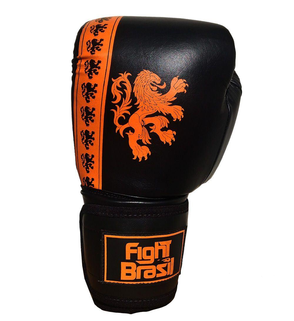 760ff7e02 Luva Boxe Luva Muay Thai 12 Oz Fight Brasil Holanda - Comprar Online .Net