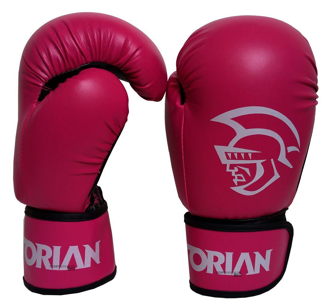 f63506573 Luva Boxe Luva Muay Thai Pretorian First 12 Oz Feminino Rosa - Comprar  Online .Net