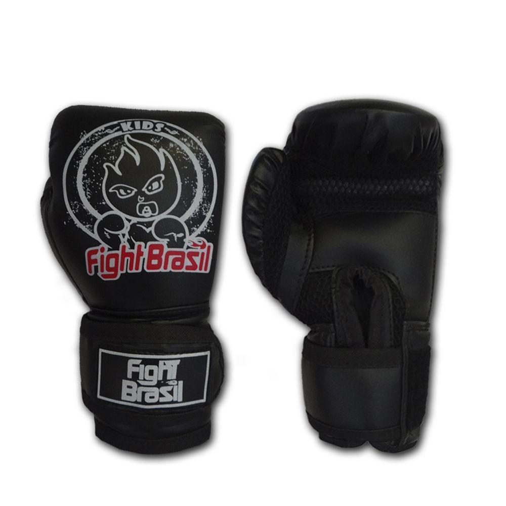 ef2151001 Luva Boxe Muay Thai Infantil Para Crianças 4 Oz Fight Brasil Preta B2W -  INFANTIL PRETA - Comprar ...