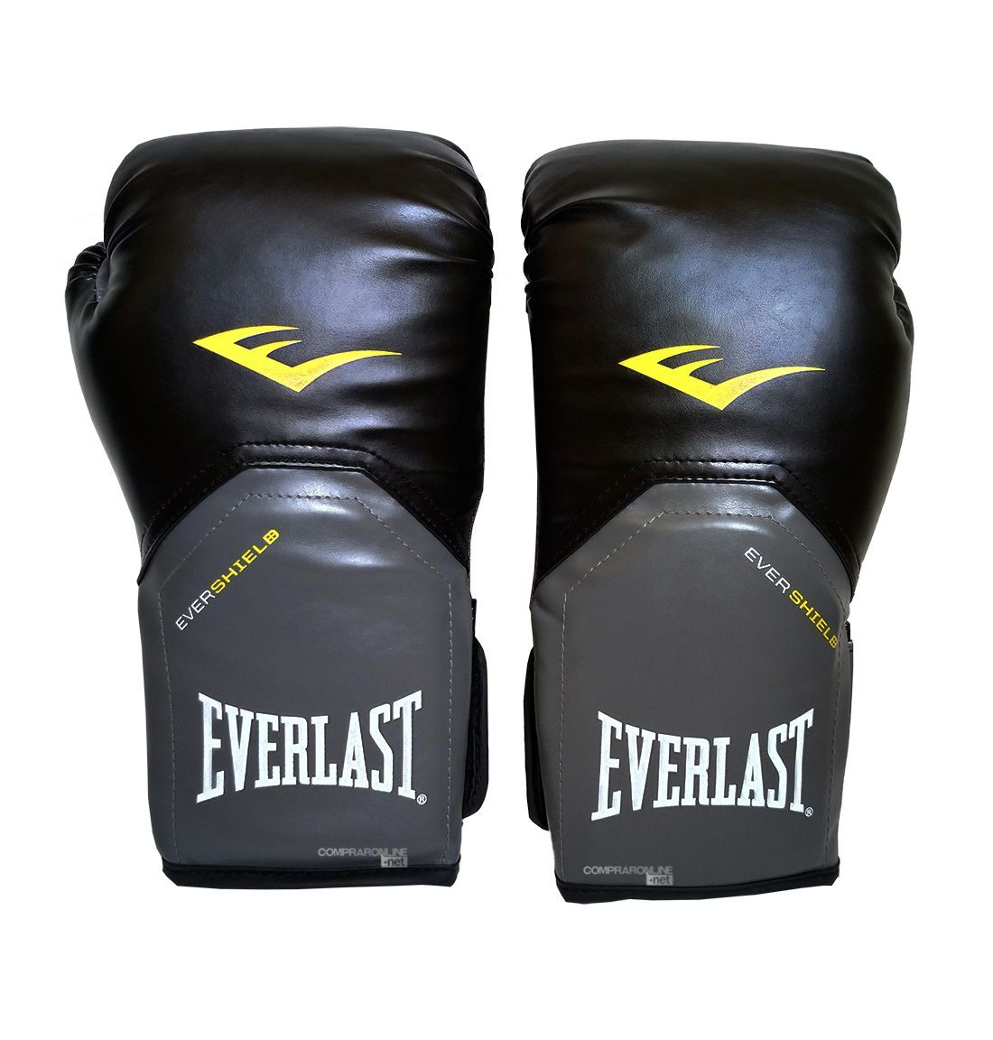 694109261 Luva Muay Thai Boxe 12 Oz Everlast Pro Style Preta - Comprar Online .Net
