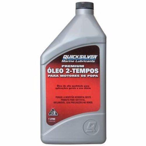 Óleo Mercury Quicksilver Tcw3 Premium 2t Náutico 1 Litro