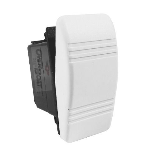 Interruptor Buzina On-off Branco Lancha Seachoice
