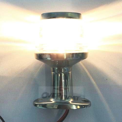 Luz De Top Inox Alcançado Atracação 12v, 10w